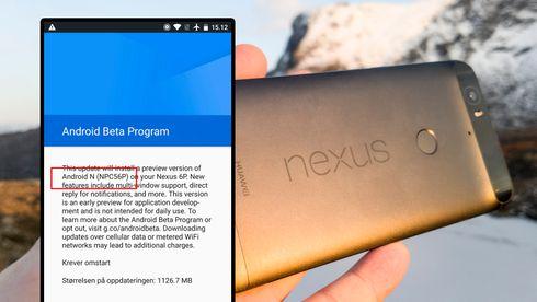 Nå kan du laste ned den siste utviklerversjonen av Android 7.0 Nougat