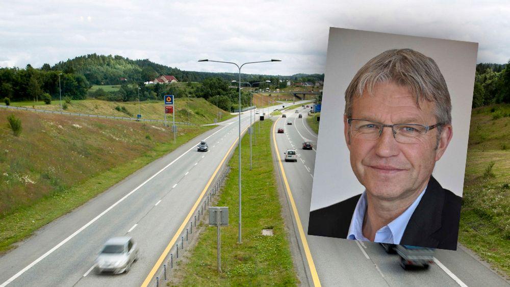 Vidar Lødrup er direktør for HR- og administrasjonsavdelingen i Vegdirektoratet.