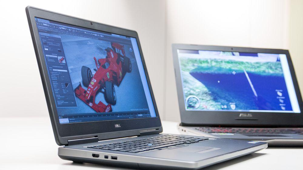 SNIKTITT: Hvor stor forskjell er det på en «arbeids»-PC til 50000 kroner, og en spill-PC til 30000 kroner?