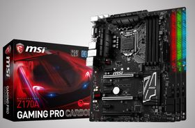 MSI Z170A Gaming Pro Carbon.