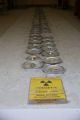 Brenselselementene lagret på Kjeller stammer fra JEEP I-reaktoren (1951-1966). Dette metalliske uranbrenselet omfatter både brensel til å drive reaktoren, men også eksperimentelle brenselselementer som det ble forsket på.