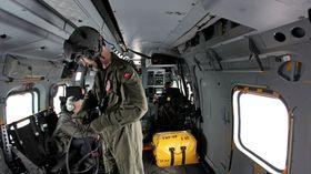 AW101 har klassens romsligste kabin. Dette er fra en dansk EH101.