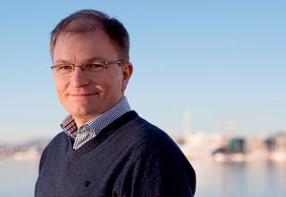 Tore Foss, daglig leder i Garnes Data.