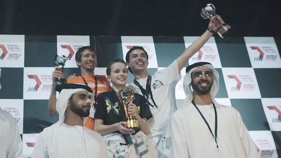 15-åring vant over 2 millioner i drone-konkurranse