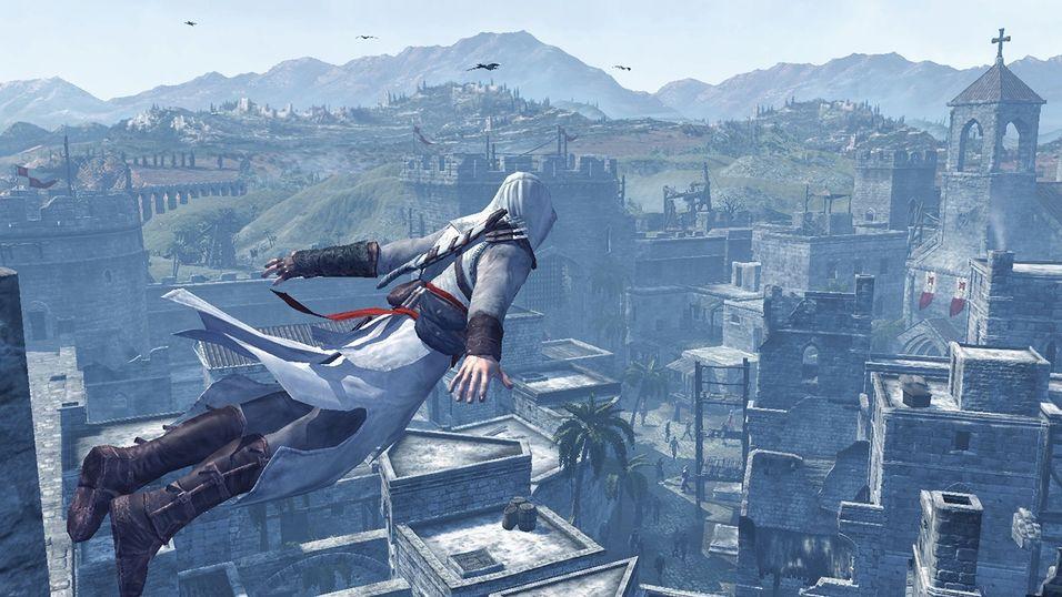 Bildet er hentet fra det første Assassin's Creed-spillet.