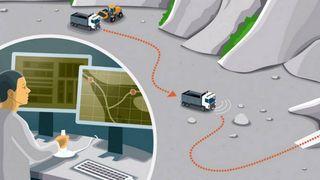 Scanias nye selvkjørende lastebiler kan gjøre gruvedrift langt billigere