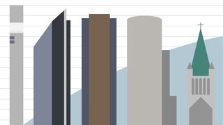 Her er Norges 5 høyeste bygninger