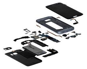 IHS plukket fra hverandre Samsungs flaggskip for å finne komponentprisene.