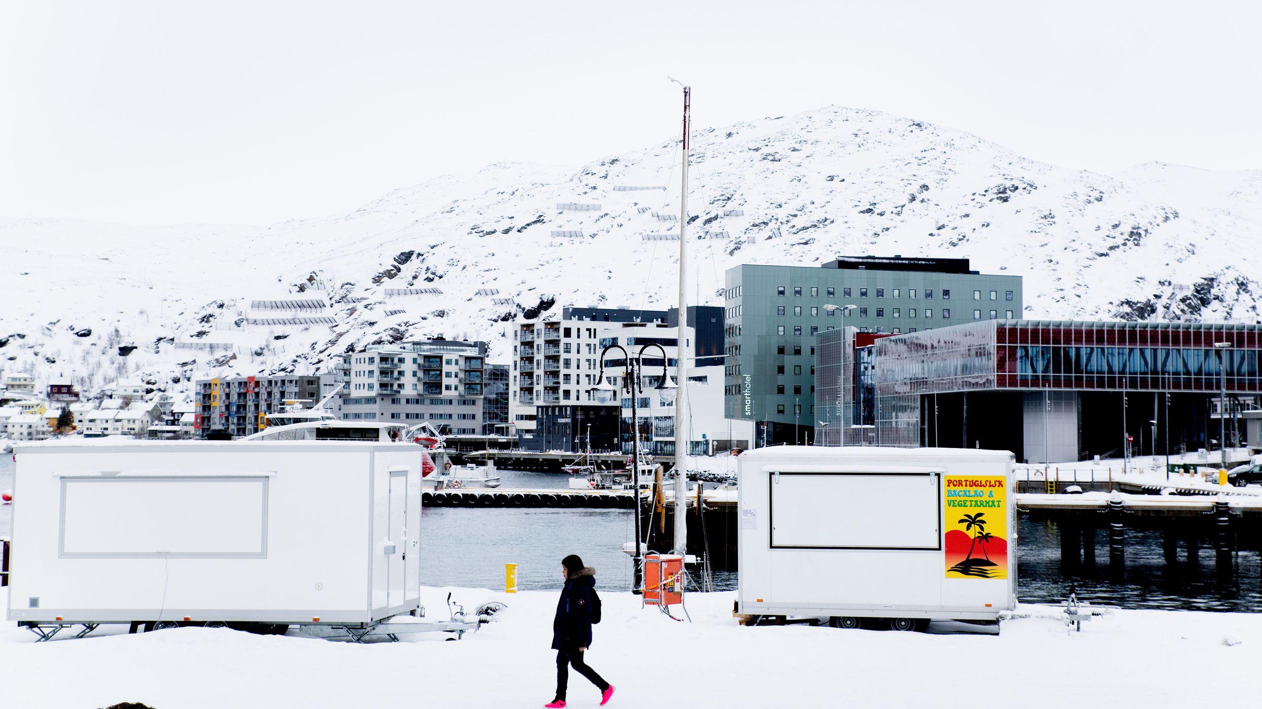 Hammerfest sentrum.