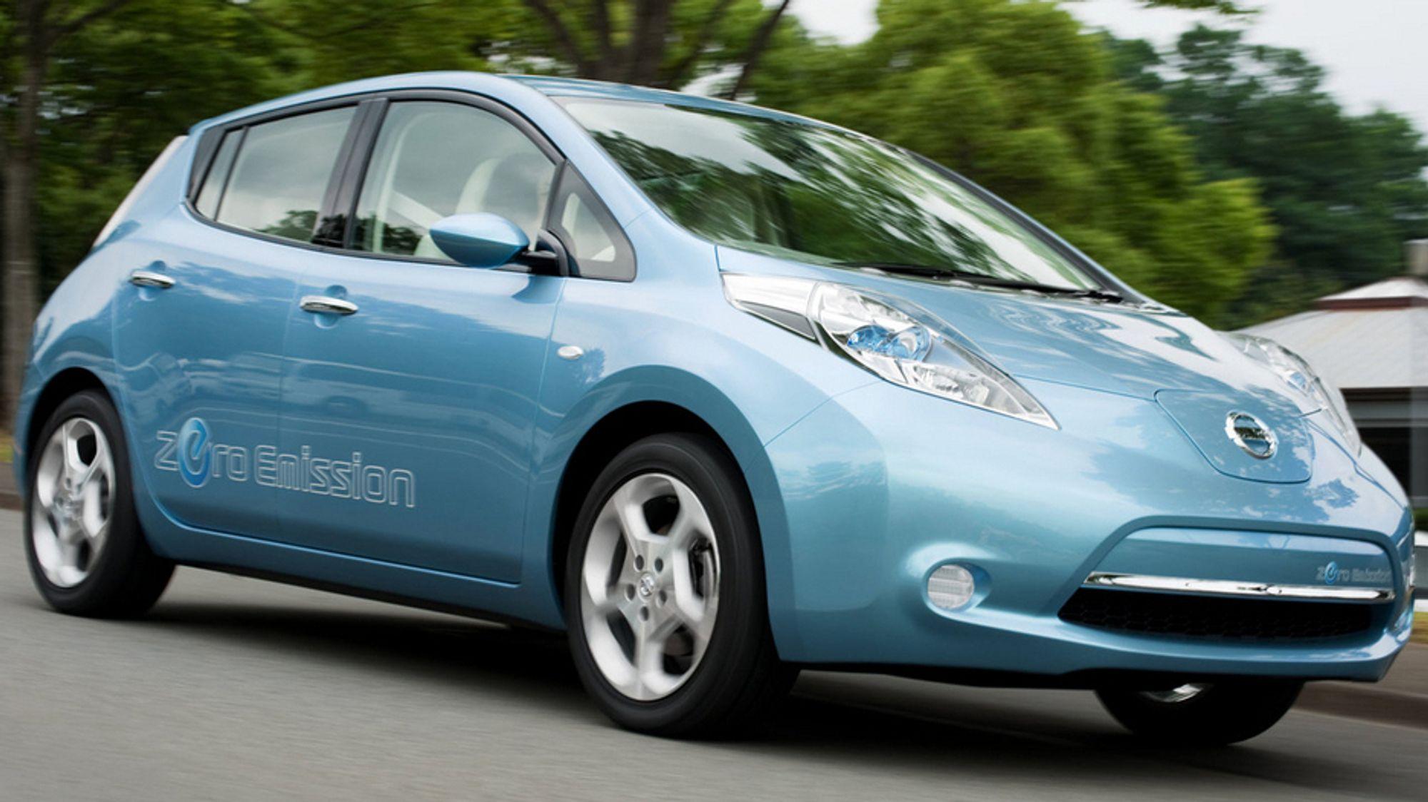 Slik fant Nissan ut hvordan de kunne lade Leaf litt mer