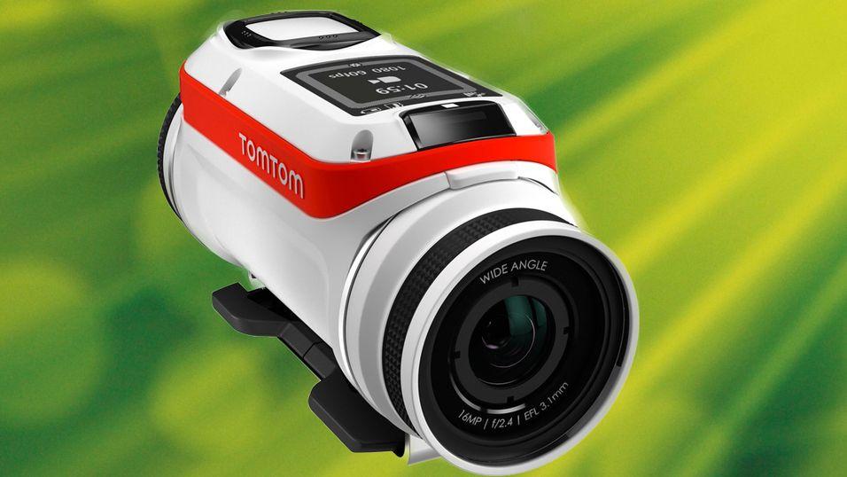 KONKURRANSE: Vinn et actionkamera med GPS