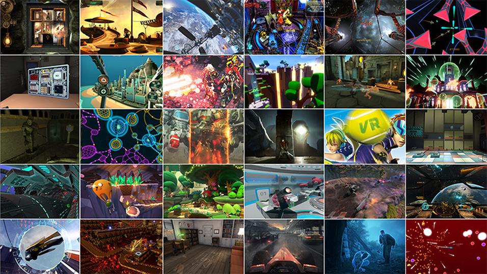 Lanseringsspillene til Oculus Rift er nå avslørt.