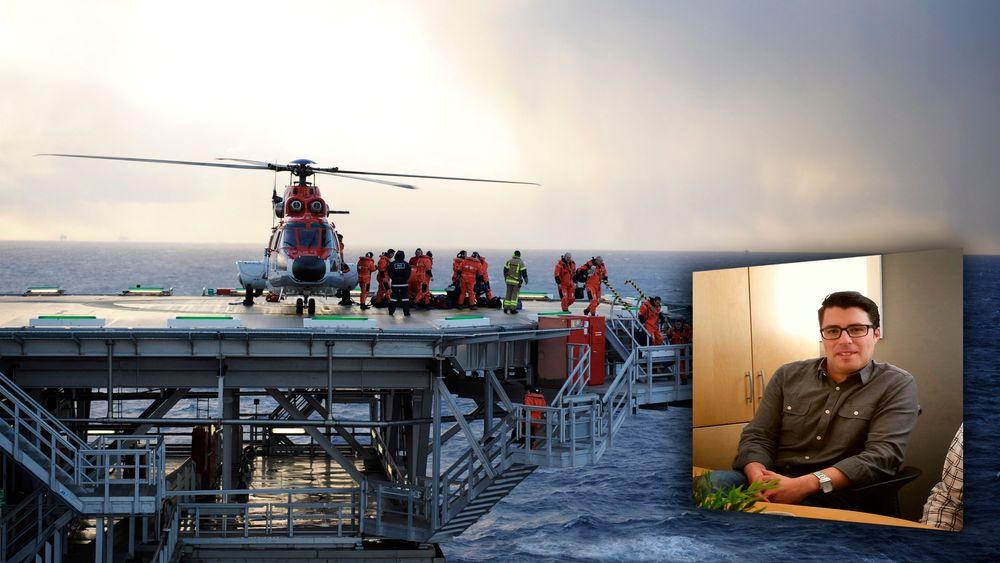 Å finne kvalifisert personell som kan dra offshore raskt har vært en utfordring. Det gjorde Javier Zahn noe med.