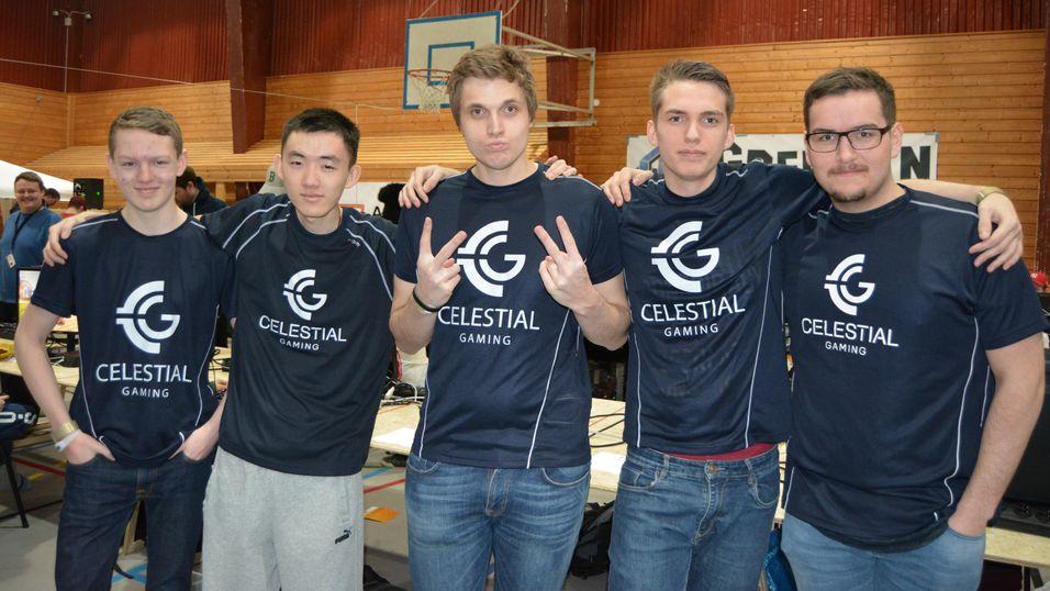 Celestial Gaming avbildet under AgderLAN tidligere i vinter.