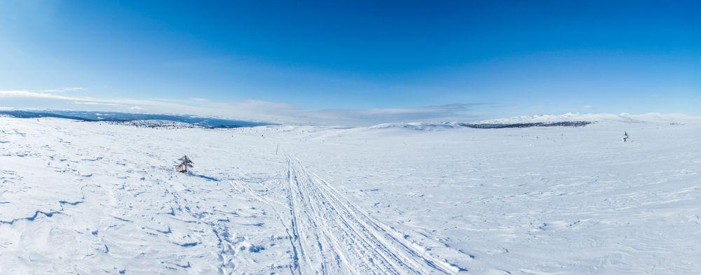 ..., og utsikten er noe bedre enn fra toget jeg vanligvis tar til kontoret i Oslo.