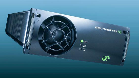 Tre i en: I stedet for tre ulike kraftkomponenter kan en Rectiverter gjøre alt.