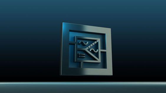 Nytt symbol. Det fantes ikke noe elektronikksymbol for det en rectiverter kan gjøre så Eltek har tegnet et.