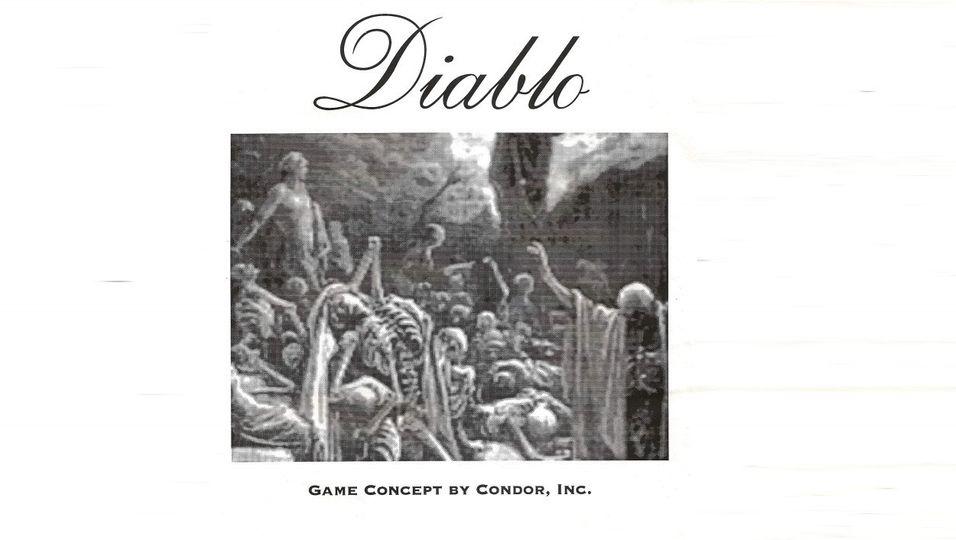For 21 år siden leverte en liten utvikler dette dokumentet til Blizzard – ett år senere ble Diablo lansert