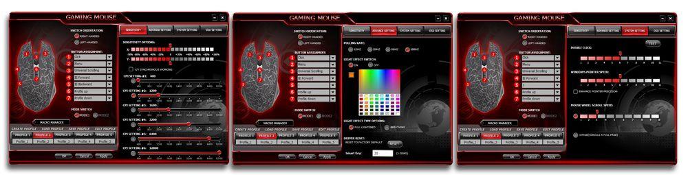 GMX-5s programvare følger med på CD(!).