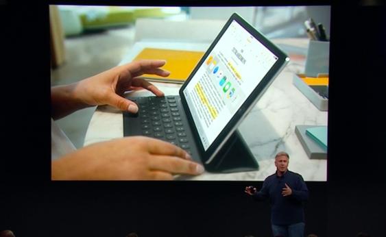 Nytt tastatur er laget for å passe den mindre formfaktoren, og lar deg brukte hurtigtaster som cmd-tab.