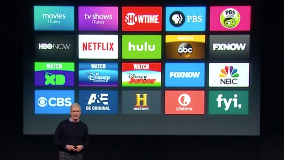 Oppdaterer Apple TV med nye funksjoner