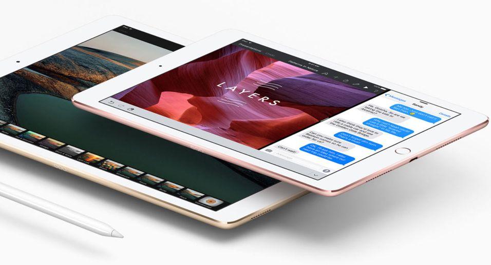 iPad Pro på 9,7 tommer tar over toppmodellansvaret i Apples iPad-serie.