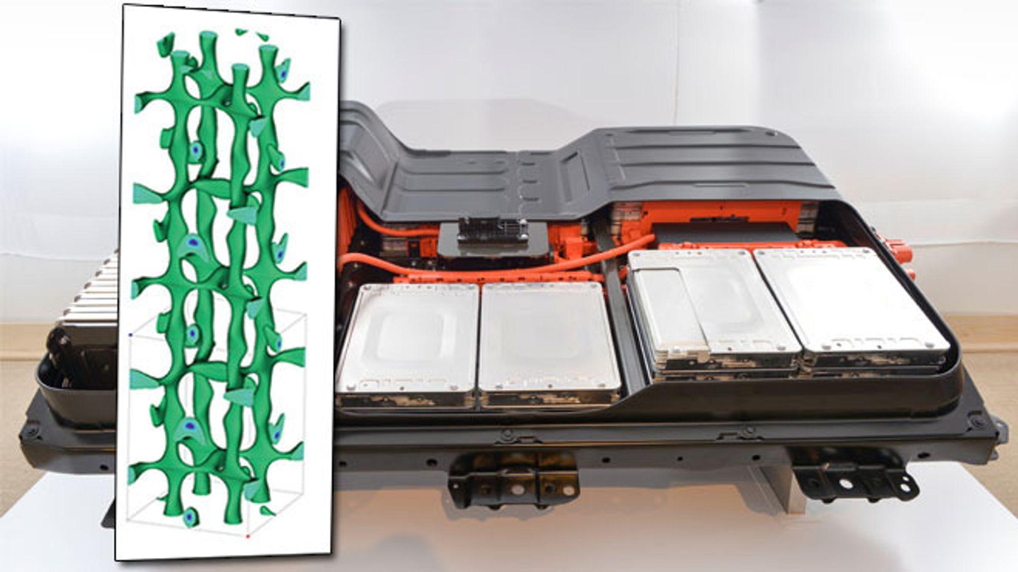 Japanske forskere har utviklet et nytt krystallmateriale som kan erstatte flytende elektrolytt. Det kan bety bedre elbilbatterier en gang i fremtiden.