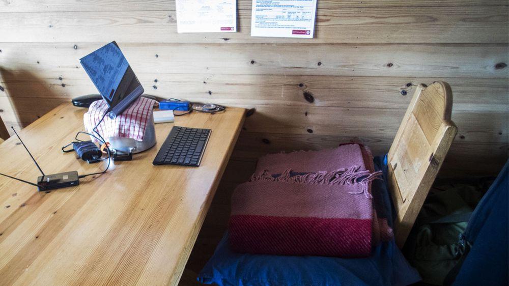 Endelig, mitt nye kontor!
