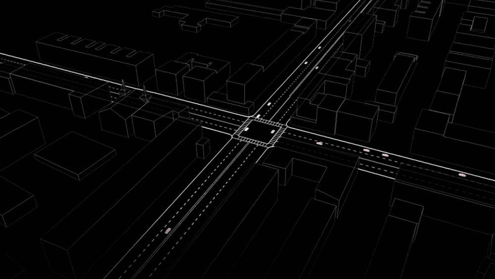 Fremtidens veikryss kan tenkes å reguleres av en automatisk «flygeleder» i stedet for trafikklys.