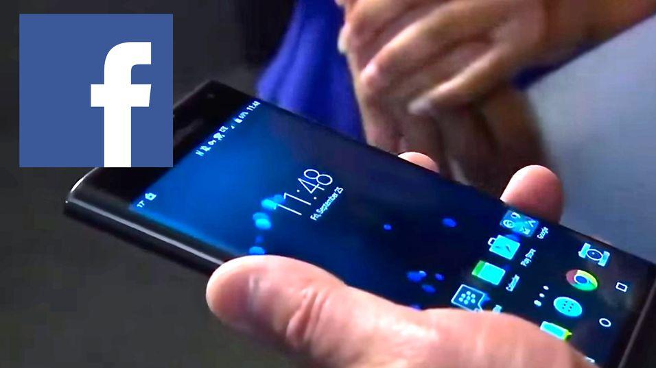 Facebook forsvinner fra BlackBerry 10.