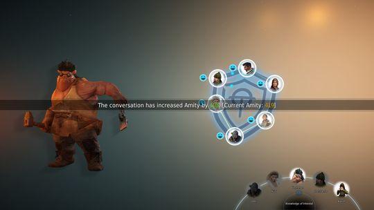 """""""Amity"""" er et mini-spill der målet er å bli bedre venner med den kunstige intelligensen. Relativt ubrukelig, spør du meg."""