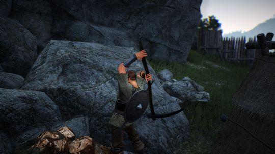Å ta hakken frem er pent å se på, men inngår i spillets massive fokus på grinding.