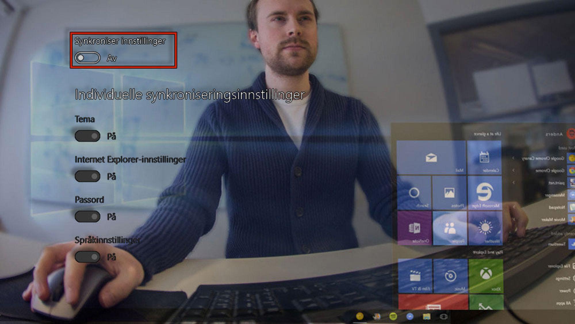 GUIDE: Disse innstillingene skrur jeg raskt av i Windows 10