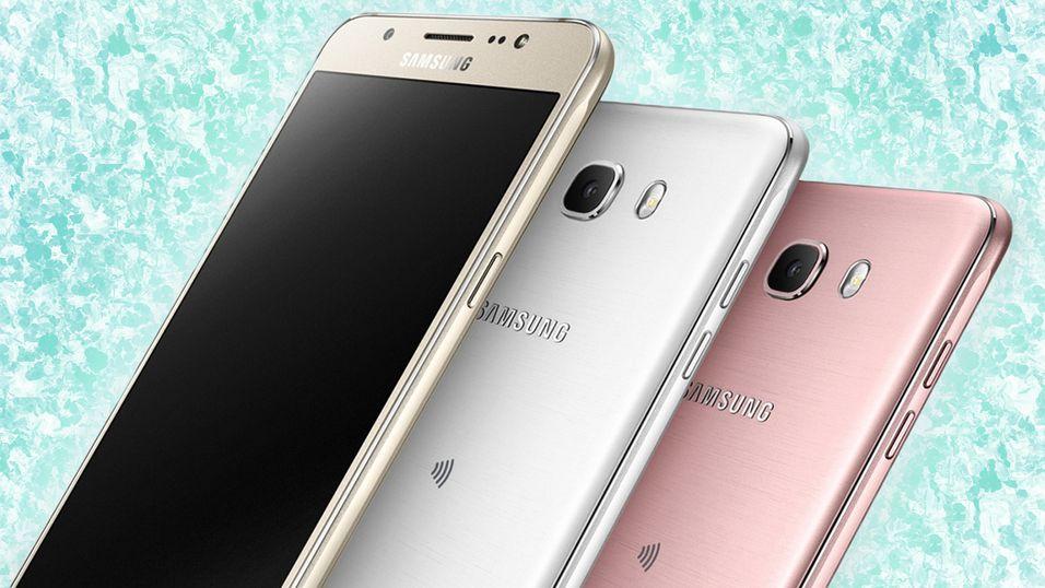 Slik ser Galaxy J5 og J7 ut.
