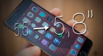 – iPhone får 5,8 tommers AMOLED-skjerm neste år
