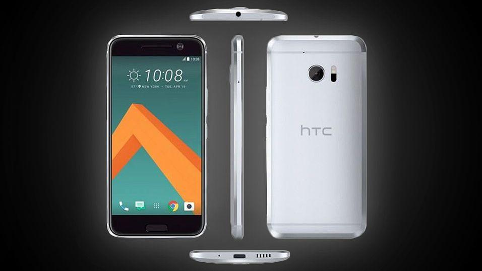Slik ser HTC 10 ut i all sin prakt.