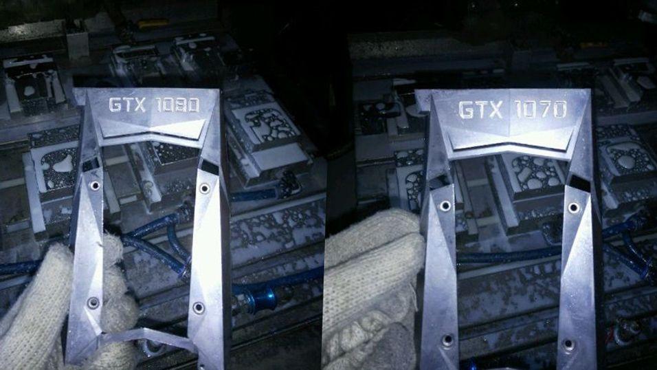 Er dette deler til to av Nvidias kommende grafikkort? Nå spekuleres det i hvorvodt «GTX 1070» og «GTX 1080» blir mer forskjellige enn antatt.