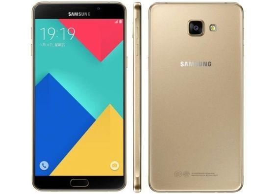Slik ser nye Galaxy A9 Pro ut – identisk med «vanlige» A9, men bare på utsiden.