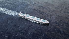 Droner svever høyt over havene og kan sende bilder av de skipene kaptein og mannskap på land ønsker.