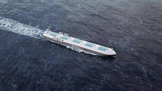 Et førerløst skip har flere systemer for å navigere trygt og uten å kollidere.