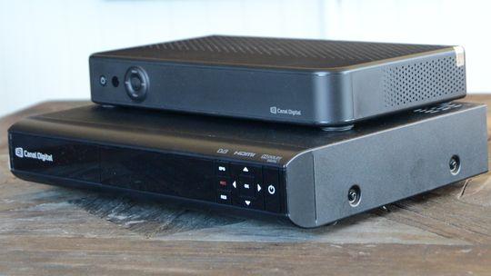 Smart HD boks er en del mindre enn dagens dekoder fra ADB.