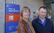 EnhetslederneHilde Olea Simonsen og Stein Moen i Plan- og bygningsetaten i Oslo mener det nye solkartet vil bli en mer pålitelig veileder for potensielle solpanel-kjøpere.