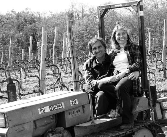 Luca og Valeria Orsini jobber økologisk men må ty til traktor innimellom - den er ikke bare for koseturer.