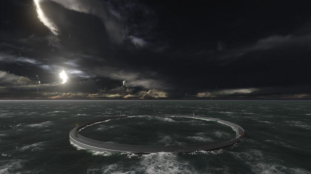Offshoreerfaring med rigger og installasjoner for tøffe forhold kom godt med. Arctic Offshore Farming skal tåle 15 meter signifikant bølgehøyde.