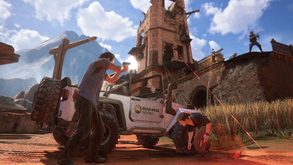 SNIKTITT: Uncharted 4: A Thief's End