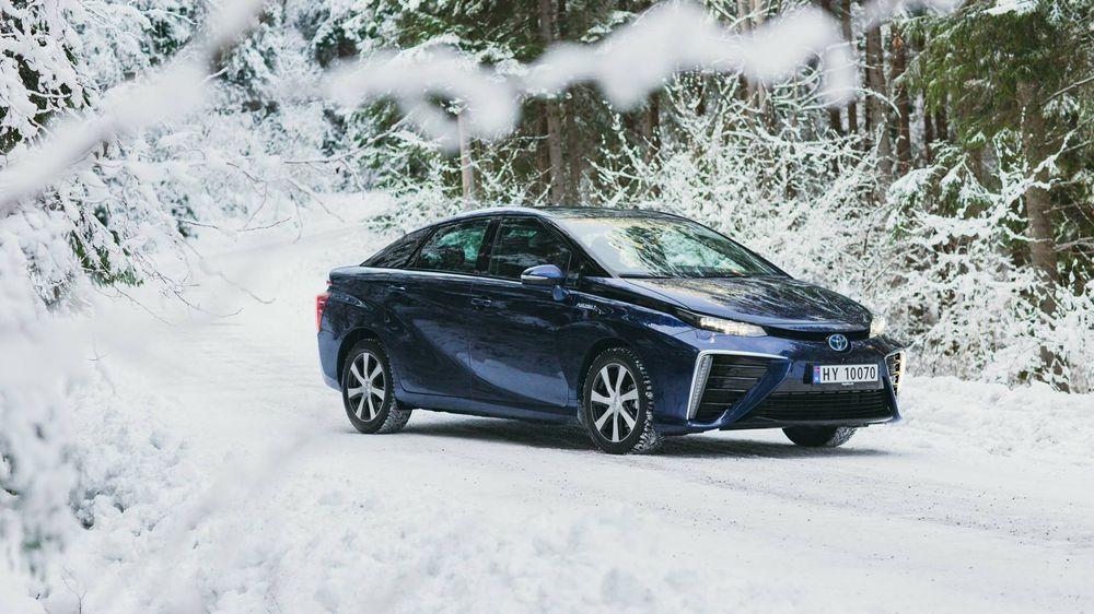 Toyota Mirai er blitt vintertestet i Norge siden januar.