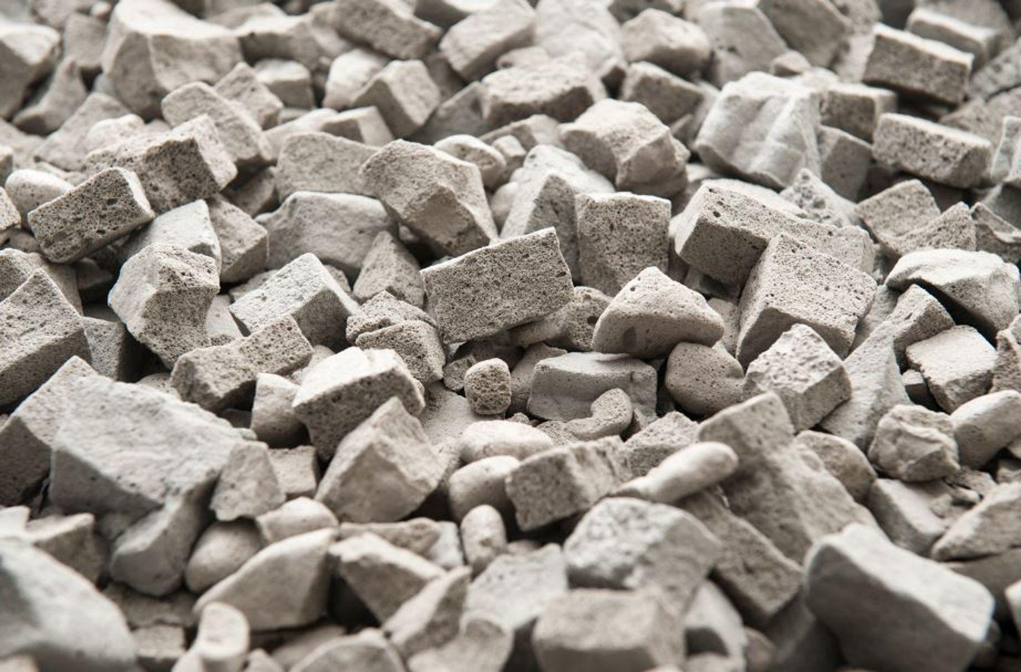 Enkelt hard stein