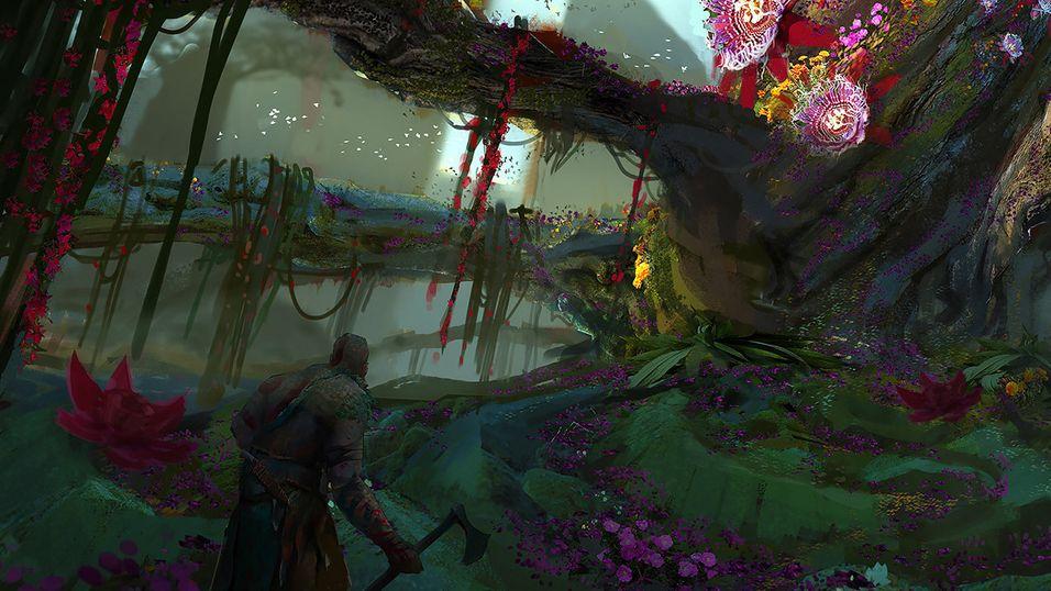 En haug av lekket God of War 4-bilder tyder på at norrøn mytologi er på planen