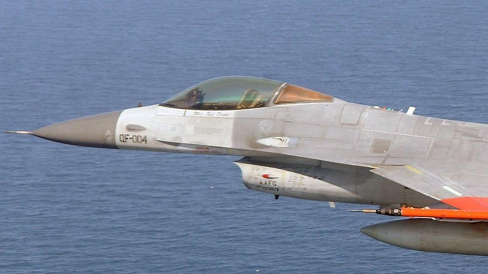 Ingen om bord: F-16 avslutter livet som drone