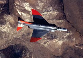 QF-4 var ombygde Phantom-fly.